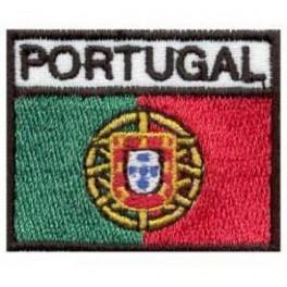 Emblema de pano bandeira de Portugal C/legenda