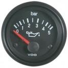 """Manómetro de pressão de óleo 52mm (2"""") 5BAR"""