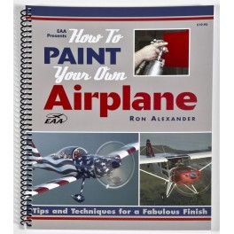 """Livro """"How to paint your own airplane"""""""