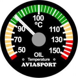"""Indicador de temperatura de óleo 52mm (2"""") 912UL"""